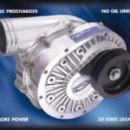 Custom Installation of ATI ProCharger D-1SC on LS1 Corvette Engine